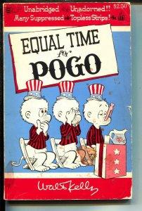 Equal Time For POGO-Walt Kelly-Paperback-VG