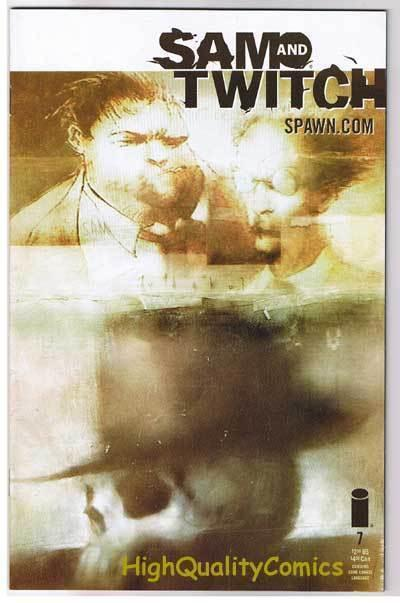 SAM & TWITCH #7, NM+, Bendis, McFarlane, Spawn, 1999, more in store
