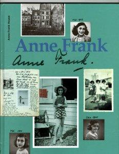 2 Books Anne Frank House History Book Elvis Presley Historical Biography JK9