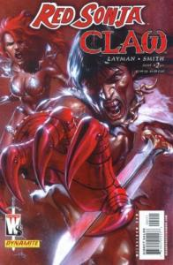 Red Sonja/Claw: Devil Hands #2 (Dynamite, 2006)