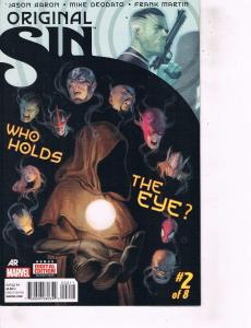 Lot Of 2 Comic Books Marvel Original Sin #2 and #4 Thor Ironman  ON9