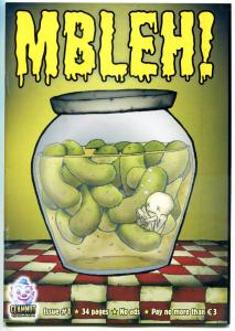 MBLEH! #1, VF, Bob Byrne, Clamnut Comix, HTF, more indies in store