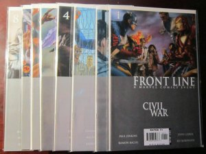 Civil War Front Line (2006), SET:#1-8, VF