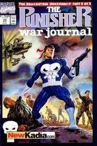 Punisher War Journal (1988 series) #33, NM (Stock photo)