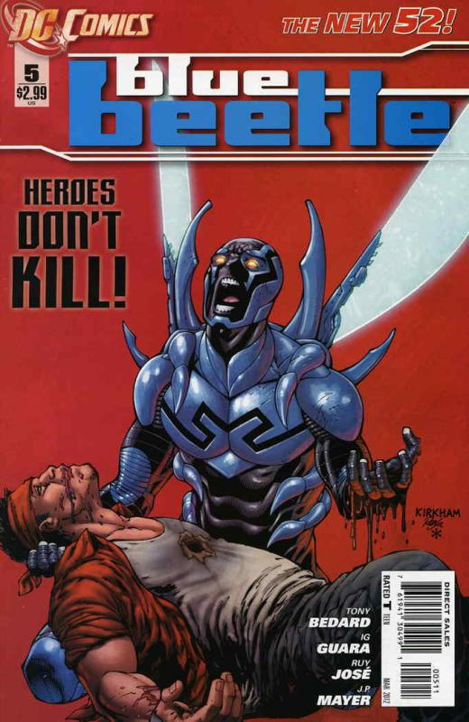 Blue Beetle (5th Series) #5 VF/NM; DC | save on shipping - details inside