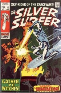 Silver Surfer #12 (ungraded) stock photo / SCM