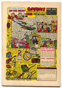 Star Spangled War Stories #54 1957 DC PARACHUTE COVER VG-