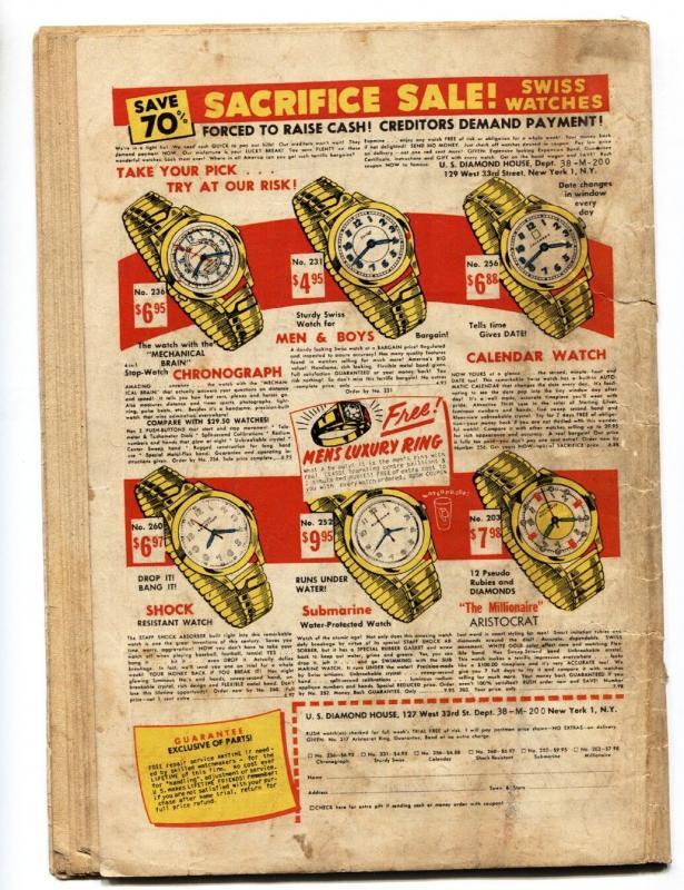 SHOCK SUSPENSTORIES #6 1953 Wally Wood Hooded Menace cover EC comic