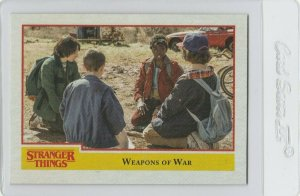 Stranger Things Weapons Of War 86 Topps Netflix 2018 Season One trading card