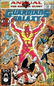 Marvel GUARDIANS OF THE GALAXY (1990 Series) Annual #1 VF
