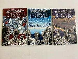 Walking Dead TPB run #1-3 SC 8.0 VF (reprints)