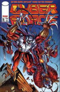 Cyberforce (Vol. 2) #5 VF; Image | save on shipping - details inside