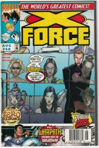 X-Force #68 August 1997 Marvel Comics