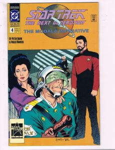 Star Trek The Next Generation #4 VF DC The Modala Imperative Comic Book 91 DE13