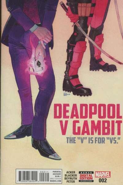 Deadpool v Gambit #2, NM + (Stock photo)
