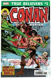 True Believers Conan The Barbarian Curse Of The Golden Skull #1 (2019) NM