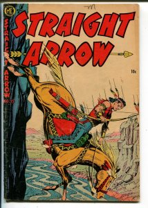 Straight Arrow #35 1954-ME-Red Hawk-Bob Powell-Fred Meagher-VG