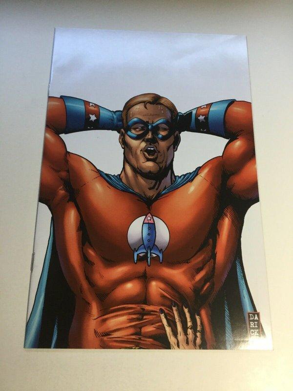 Herogasm 1 Virgin Variant Nm- Near Mint- 9.2 The Boys Dynamite Comics