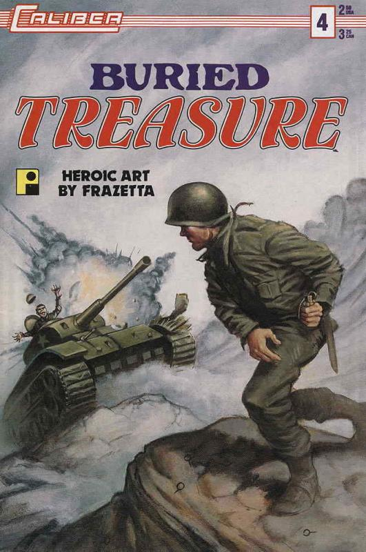 Buried Treasure (2nd Series) #4 VF/NM; Caliber | save on shipping - details insi