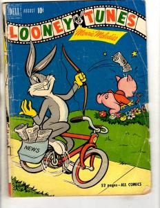 Looney Tunes & Merrie Melodies # 118 VG Dell Golden Age Comic Bugs Bunny JL18