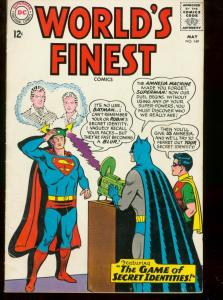 WORLDS FINEST #149 1965 DC BATMAN SUPERMAN  CONGORILLA FN