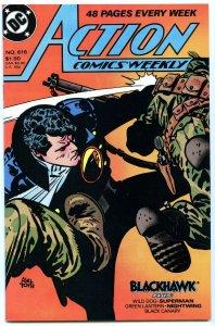 Action Comics Weekly 616 Sep 1988 NM- (9.2)