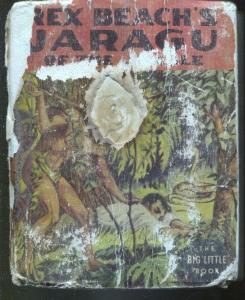 Rex Beach's Jaragu #1424-1937-Big Little Book-jungle adventure-P