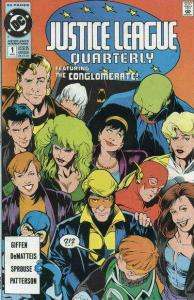 Justice League Quarterly #1, VF- (Stock photo)