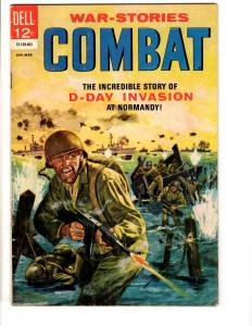 War Stories Combat # 11 FN Dell Silver Age Comic Book 1964 Painted Cover JL17