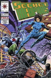 SECRET WEAPONS #9, NM-, Bloodshot, Valiant Comics,1993 1994 more Indies in store