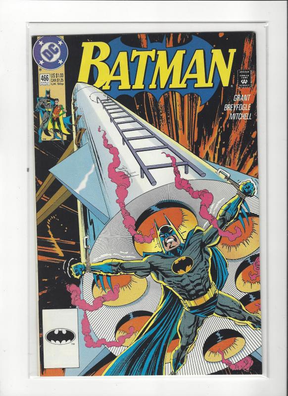 BATMAN #466  DC COMICS NM