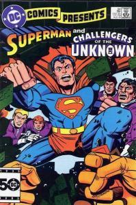 DC Comics Presents #84, Good (Stock photo)