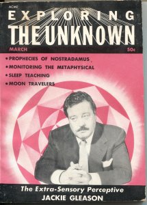EXPLORING THE UNKNOWN #2-1960-JACKIE GLEASON EXPLORES THE UNKNOWN---PULP MYSTERI