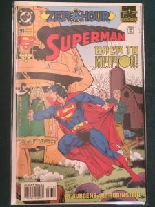 Superman #93 ZERO HOUR