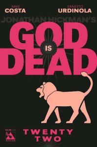 God is Dead #22, NM (Stock photo)