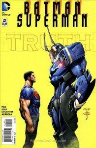 Batman/Superman #21 VG; DC   low grade comic - save on shipping - details inside
