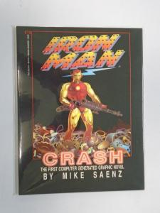Iron Man Crash #1 - 7.0 - 1988