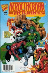 Heroes Reborn (2000 series) The Return #3, NM- (Stock photo)