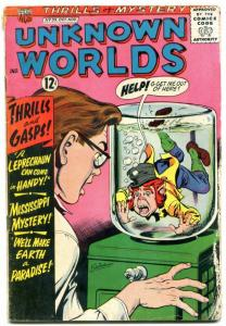 Unknown Worlds #35 1964- ACG Silver Age- leprechaun cover G