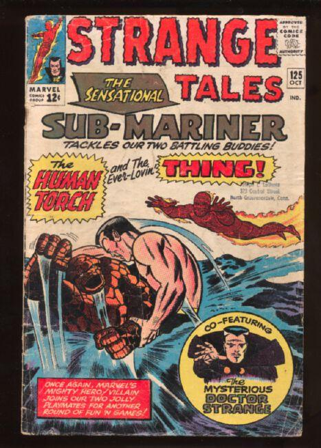 Strange Tales (1951 series) #125, Good+ (Actual scan)