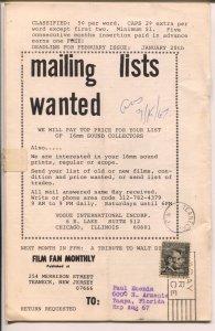 Film Fan Monthly #67 1/1967-Billy Gilbert-Leonard Maltin-VG