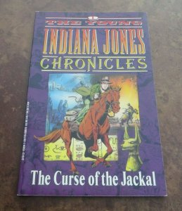 The Young Indiana Jones Chronicles #1 The Curse of the Javkal VF 1992 Darkhorse