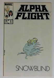 Alpha Flight #6 Marvel 1983 NM CLASSIC WHITE COVER Comic Book
