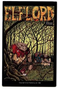 Elflord #1 1986 Aircel-Low print run-Independent comic book