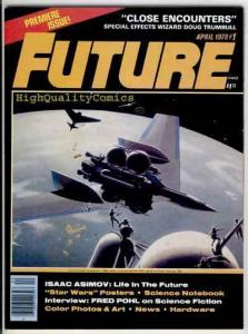 FUTURE #1, Sci-Fi Mag, Asimov, Pohl, Star Wars,1978, NM- , Planet X, King Kong