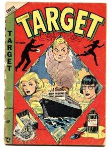 Target Vol. 9 #8 1948-L.B. Cole drugs cover-Gary Stark-Don Rico-