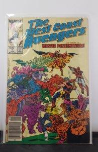 West Coast Avengers #4 (1986)