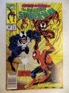 AMAZING SPIDER-MAN # 362 MARVEL SECOND CARNAGE VENOM MOVIE ACTION ADVENTURE