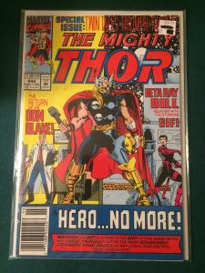 The Mighty Thor #442 A Hero...NO MORE!