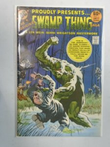 DC Special Series #2 Presents Swamp Thing 4.0 VG (1977)